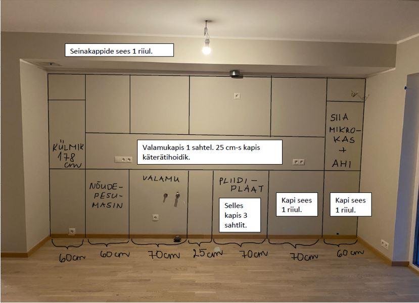 Köögimööbli tellimine 5 - köögimööbel24