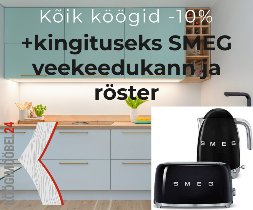 Suvelõpu kampaania - köögimööbel24